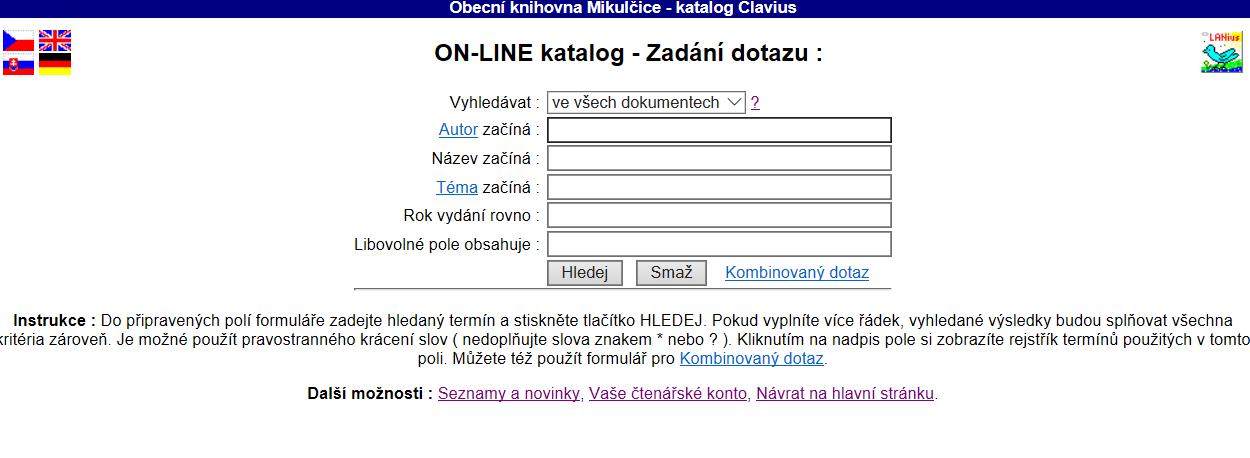 Náhled online katalogu